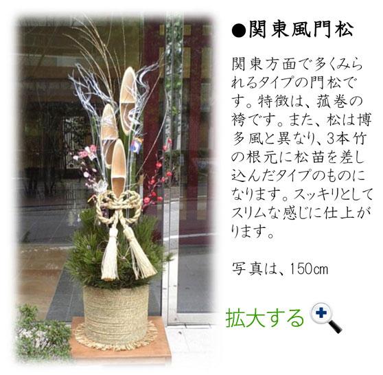 関東風門松